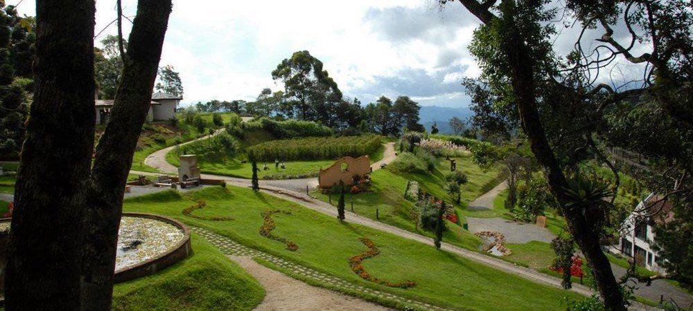 O Jardim Alemão no Amantikir em Campos do Jordão - Foto: Site oficial
