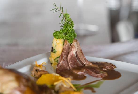Prato do restaurante La Fourchette. Foto do site oficial Valle Nevado