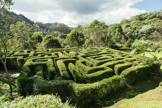 O Labirinto no Parque Amantikir - Foto: Noel Portugal via Flickr