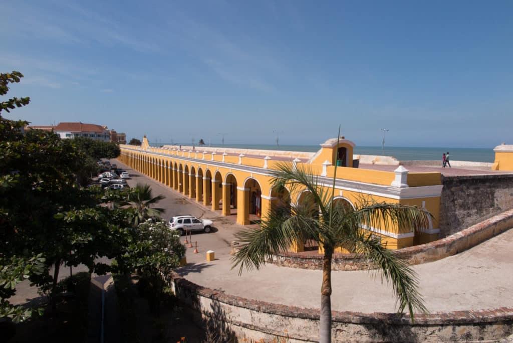 Las Bóvedas - vista desde o Castelo de San Felipe de Barajas