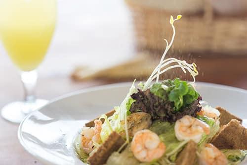 Prato do restaurante Mirador del Plomo, onde comer no Valle Nevado. Foto oficial do site Valle Nevado