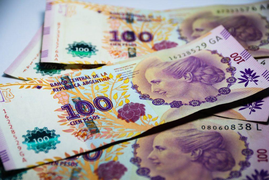 Nota de peso argentino