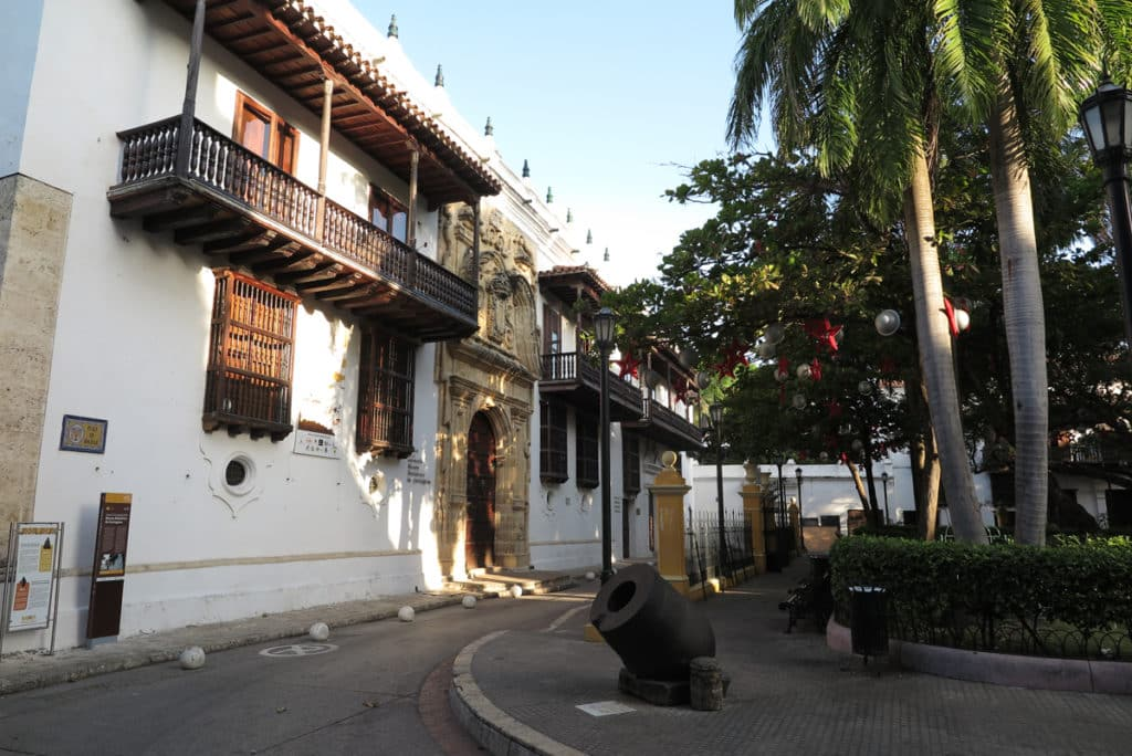 O Museu da Inquisição em Cartagena Colombia