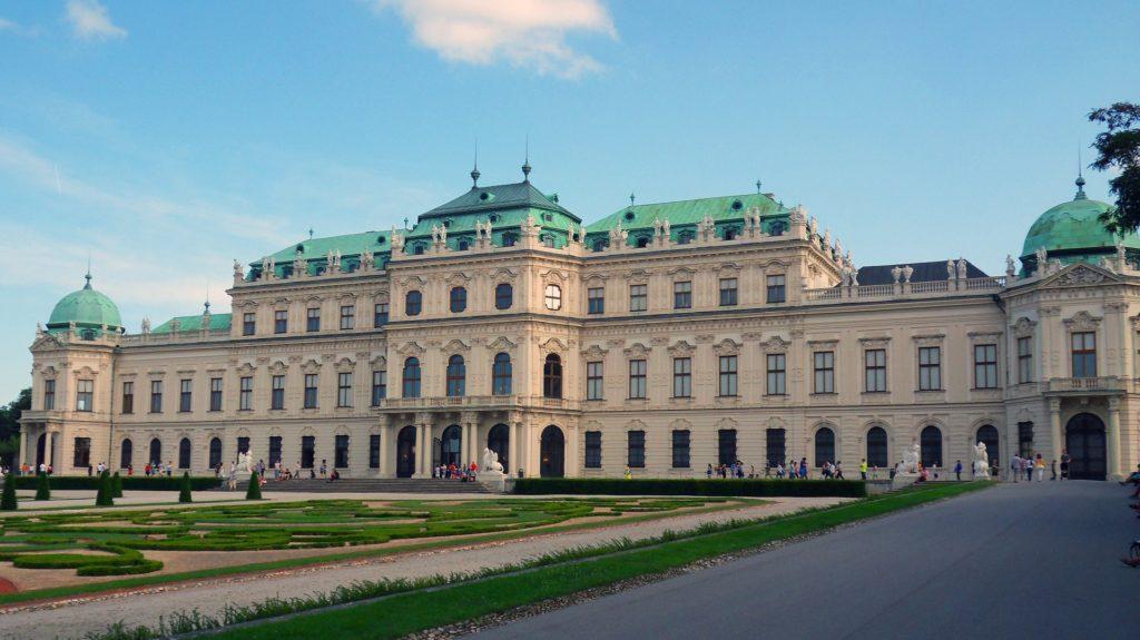 O Palácio Belvedere, uma ótima dica do que fazer em Viena.