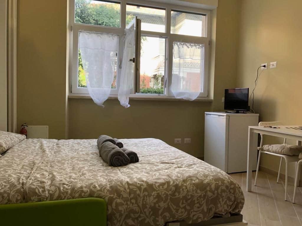 Quarto de casal no Smart Apartament em Milão