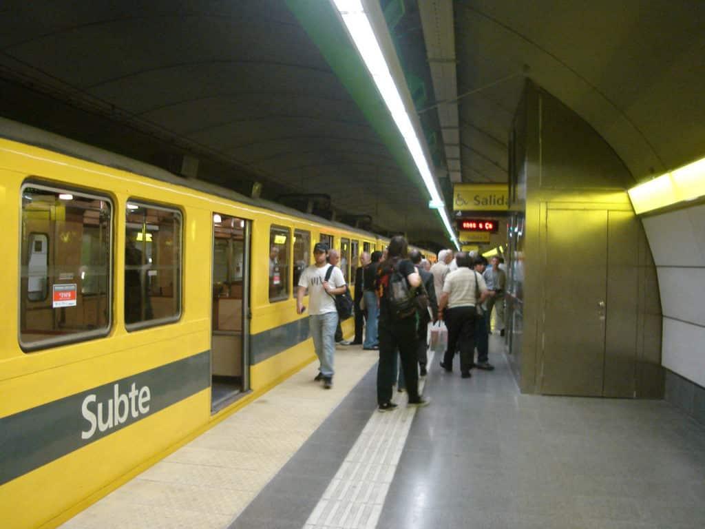 O Subte - o metrô na Argentina