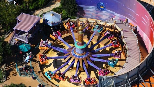 Os tapetes voadores na Disney Paris