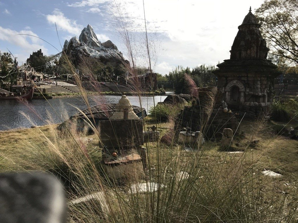 A Expedition Everest no Parque Ásia no Animal Kingdom