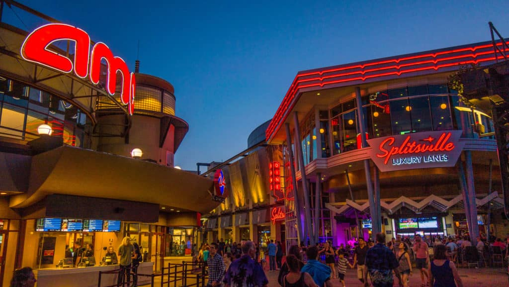A Amc Movie e a Splitsville na Disney Springs - Foto: franklyray via Flicker