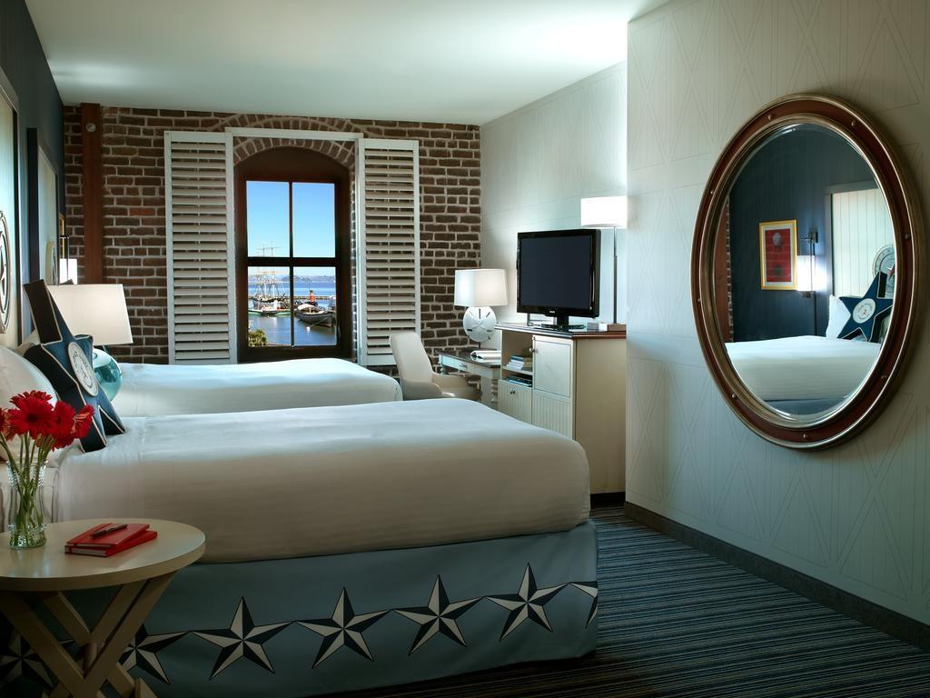 Quarto duplo no Argonaut Hotel