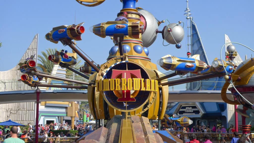 Astro Orbiter na Tomorrowland na Disney Magic Kingdom - Foto: camknows via Flickr