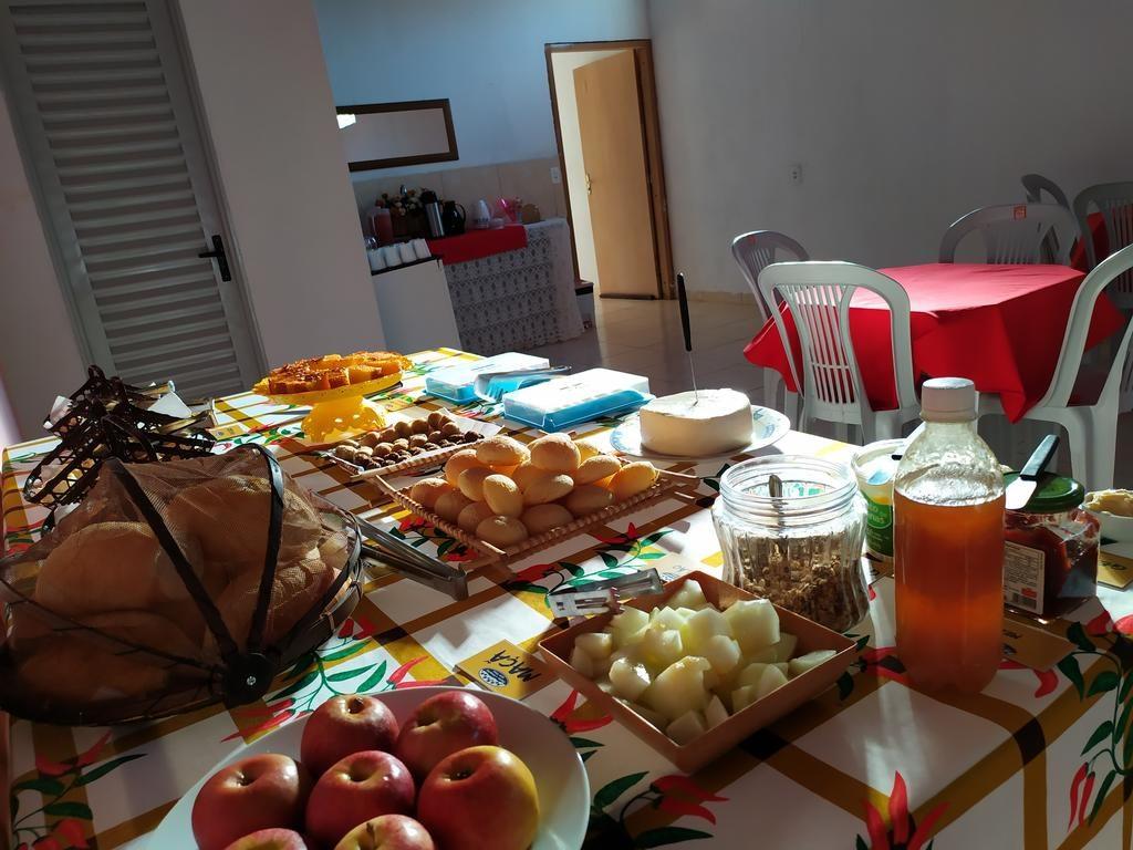 Café da manhã dos Chalés Bela Vista