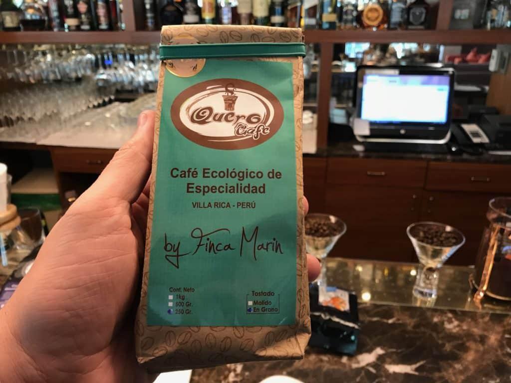 Café Finca Maria - pude trazer um deste para o Brasil.