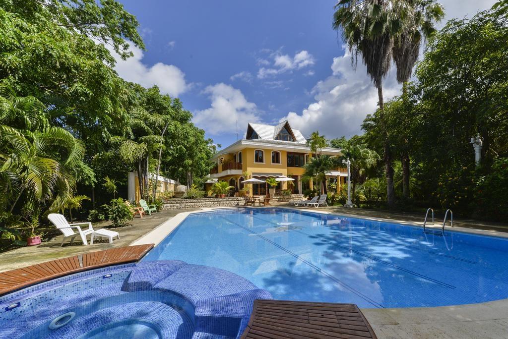 Piscina Casa las Palmas - onde ficar em San Andrés