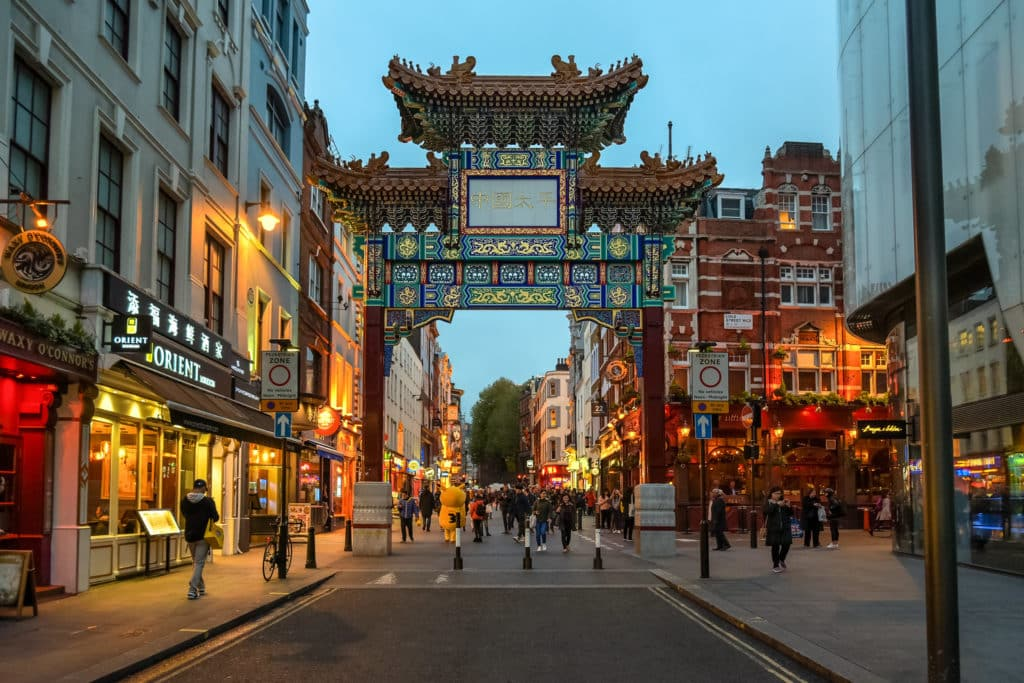 O barro de Chinatown em Londres - Foto: Jorge Franganillo via Flickr