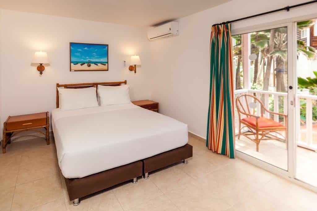 Quarto do Decameron San Luis, resort onde ficar em San Andres