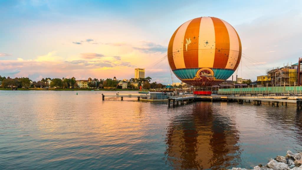 O Aerophile, uma ótima opção de entretenimento na Disney Springs - Foto: Gerardo Franco