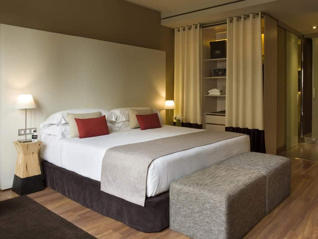 Quarto do Grand Hotel Central em BArcelona