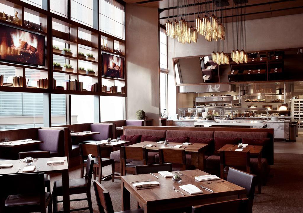 Restaurante de uma das opções de onde ficar em San Francisco, o Grand Hyatt.