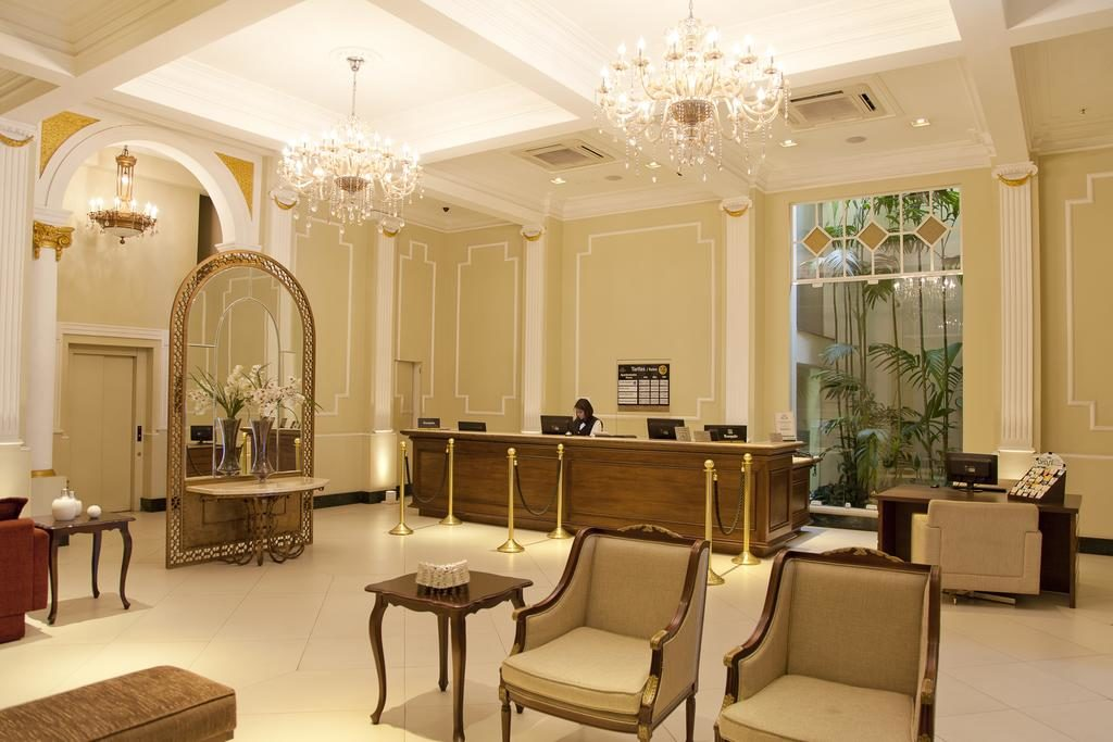 Lobby Grande Hotel Petrópolis