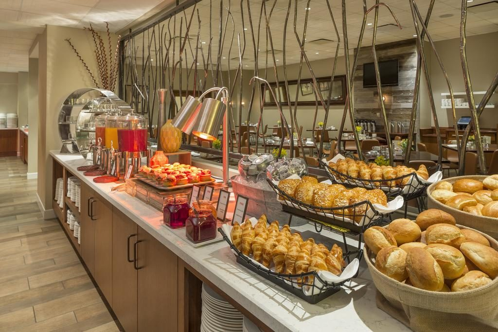 Café da manhã no Hilton Union Square em San Francisco