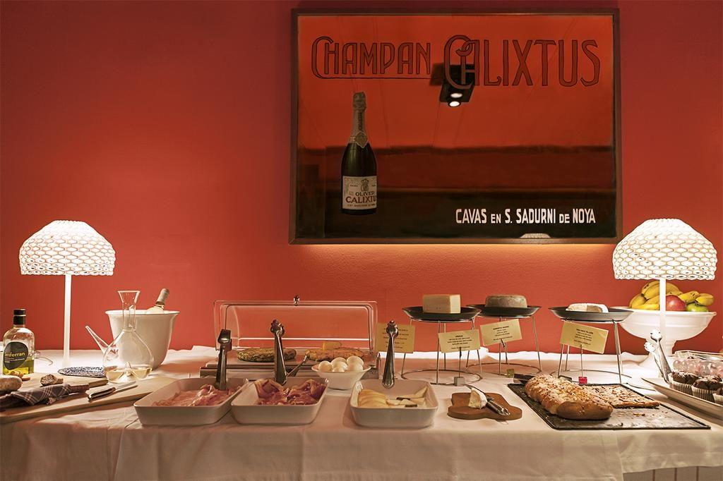 Café da manha do Hotel Banys Orientals em Barcelona