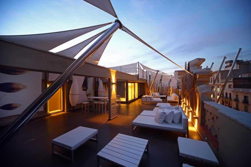 rooftop do Hotel Constanza em Barcelona
