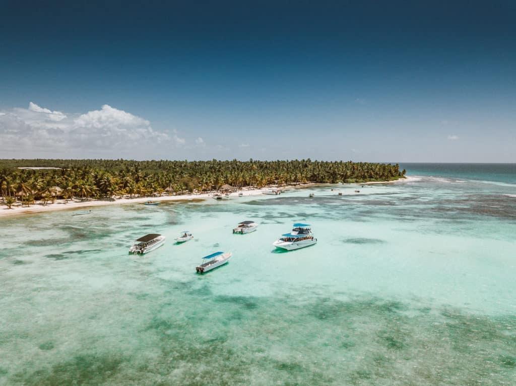 A paradisíaca Isla Saona - vela a pena a visita! - Foto: Diego Imai