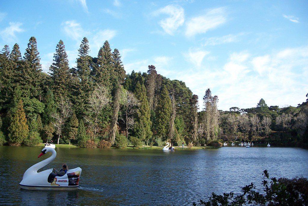 Os pedalinhos no Lago Negro em Gramado - Foto: serrasgauchas via Flickr