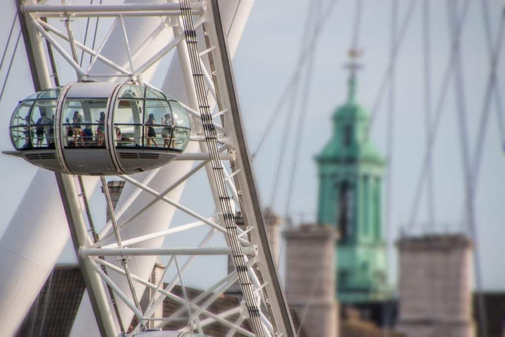 A London Eye ou Roda Gigante de Londres