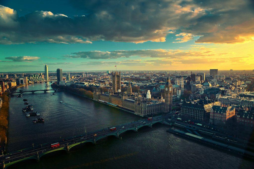 A capital da Inglaterra vista de cima - Descubra tudo o que fazer em Londres