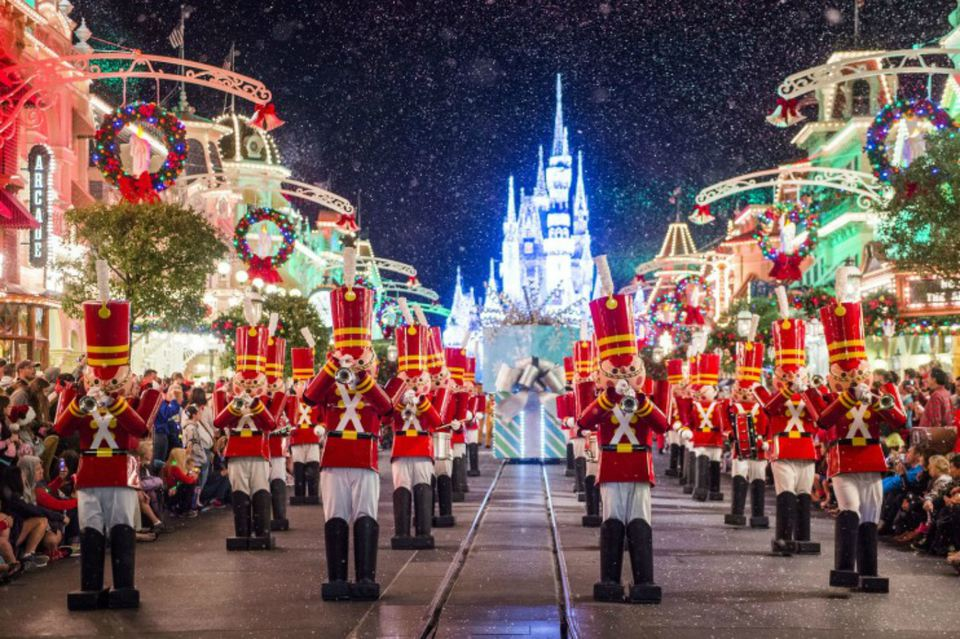 Natal no Disney Magic Kingdom em Orlando