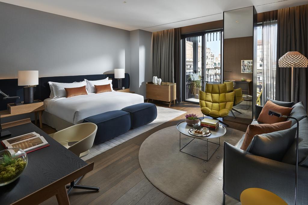 Mandarin Oriental Barcelona- quarto - hotel de luxo onde ficar