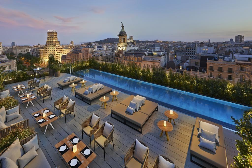 Mandarin Oriental Barcelona piscina