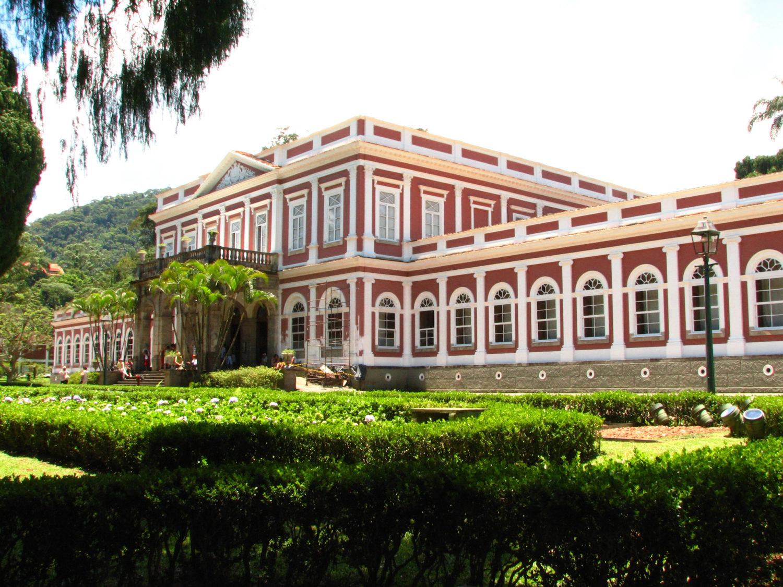 Vista do Museu Imperial de Petrópolis
