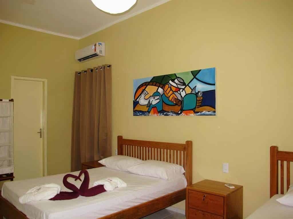 Pousadas em Fortaleza - Pousada Deisilia cama