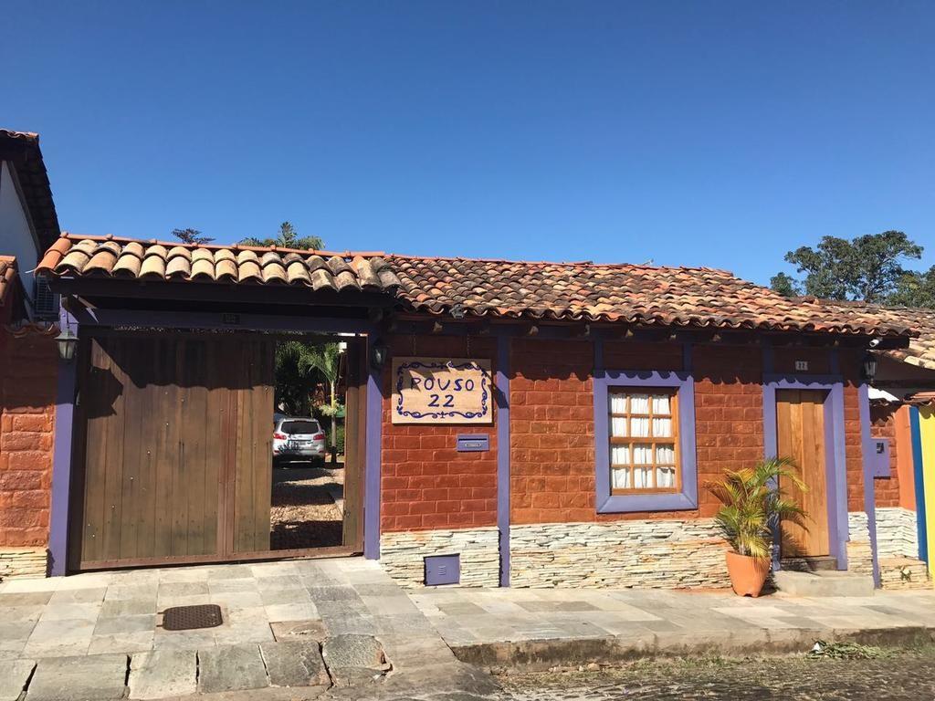 Fachada da Pousada Pouso 22 de pousadas em Pirenópolis