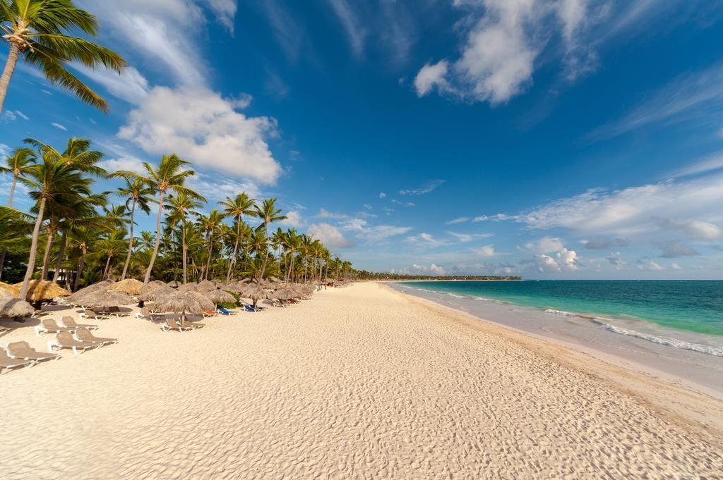 A praia Arena Gorda em Punta Cana