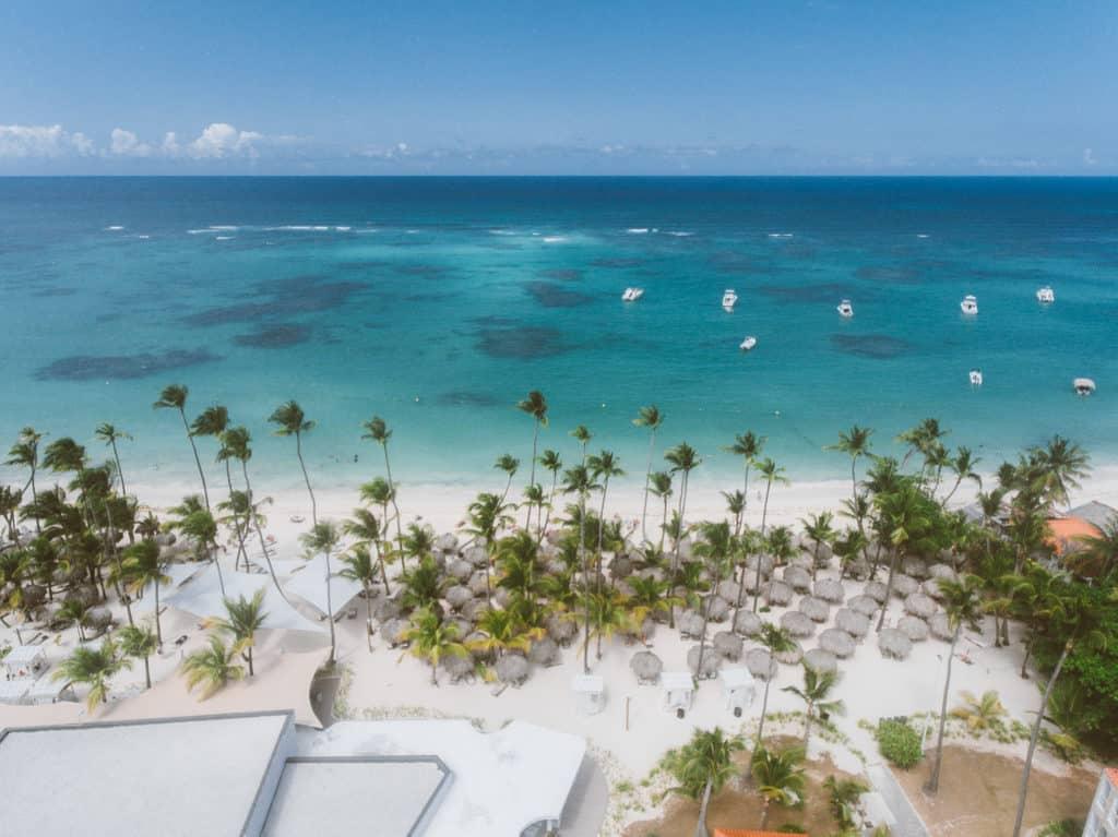 Vista da Praia de Cap Cana, na Região de Punta Cana - Foto: Diego Imai