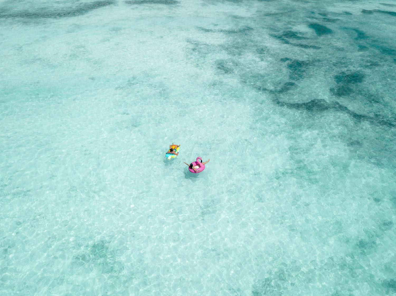 águas na ilha de saona na república dominicana