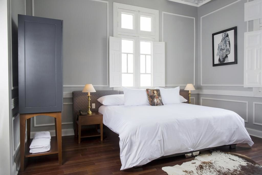 Foto de suite na Casa Republica Barrando, hotel indicado para viagens de lua de mel em Lima