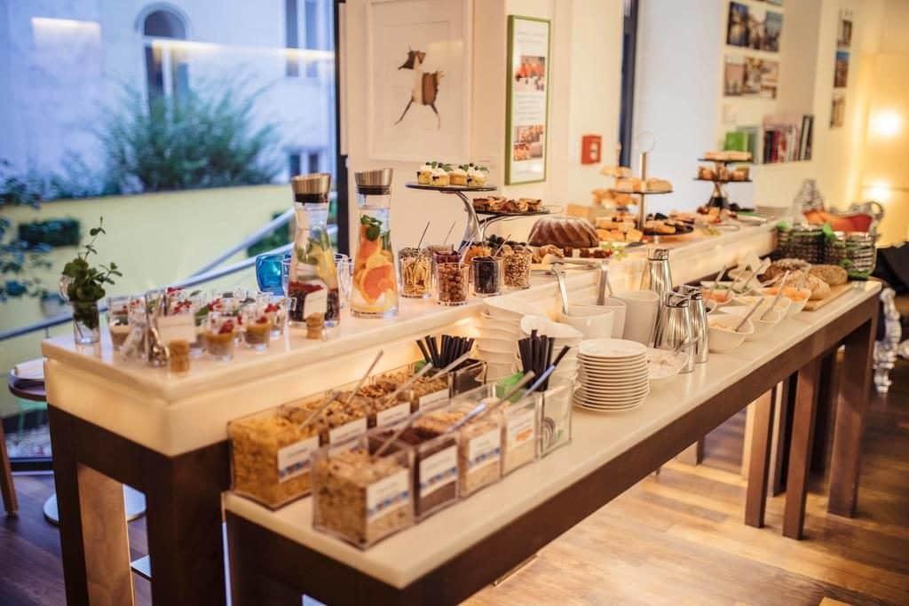 Café da manhã no Hotel Rathaus