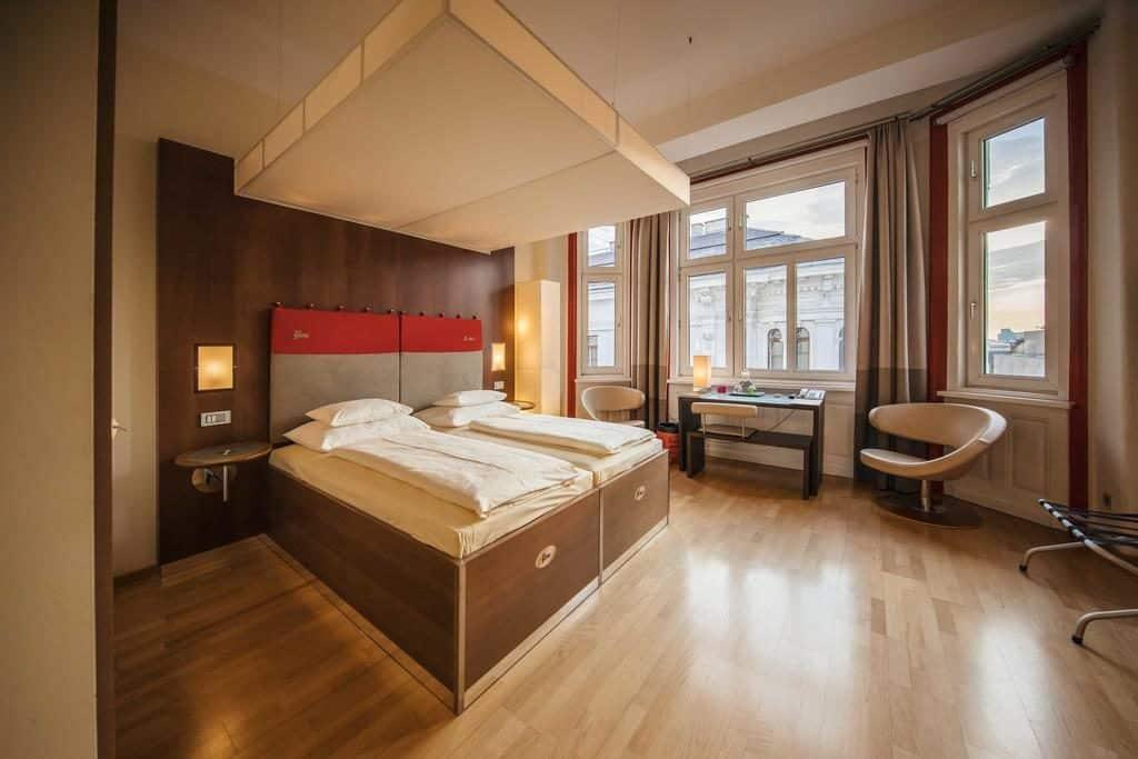 Quarto de casal no Hotel Rathaus