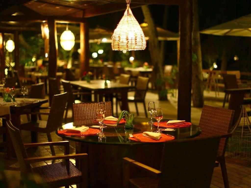 O charmoso restaurante Camurim Grande em Maragogi