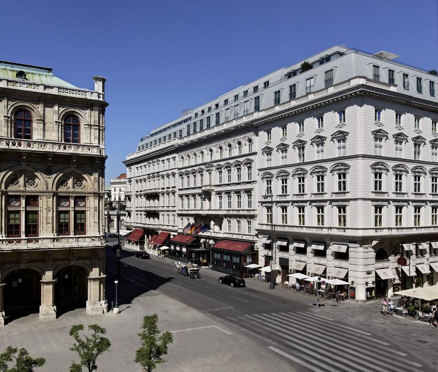 Prédio do hotel Sacher Wien, em Viena