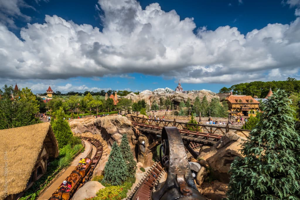 A Seven Dwarfs Mine Train - Foto: Eddison Esteban