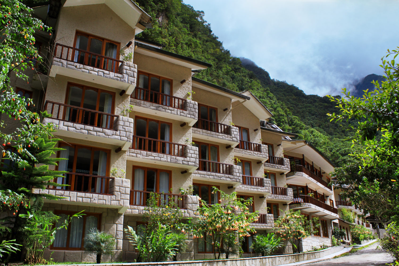 Fachada do Sumaq Machu Picchu Hotel.