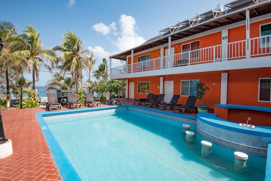 Piscina Sunset Hotel - onde ficar em San Andres
