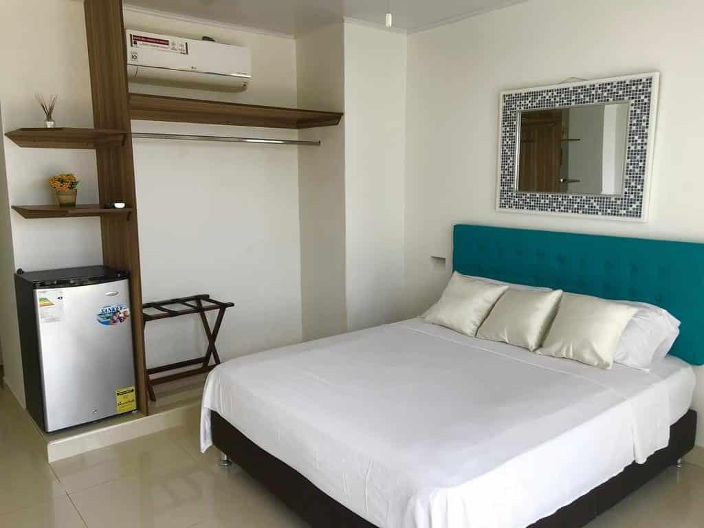 Quarto do Hotel Sunshine - onde ficar em San Andres