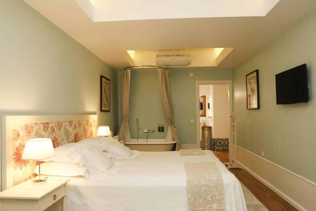 Quarto do Hotel Alecrim ao Chiado